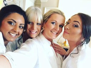 bridesmaids-makeup-selfie-downhall-essex