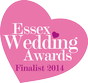 Essex Wedding Awards Finalist 2014